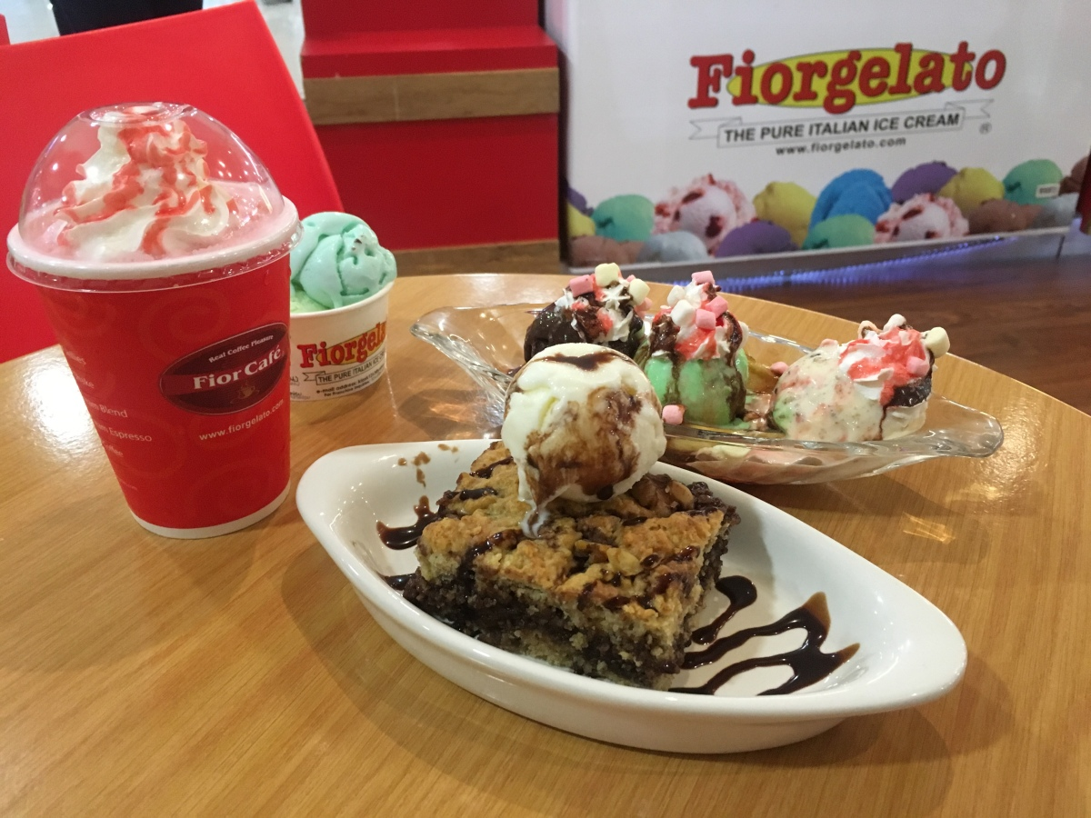 Frozen treats at Fiorgelato, Sta Lucia East