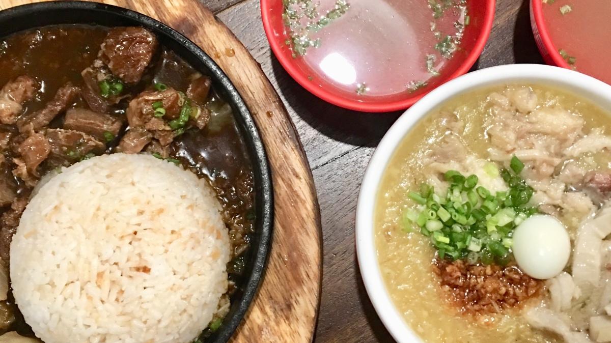 Pinoy comfort food at Goto Tendon, TomasMorato