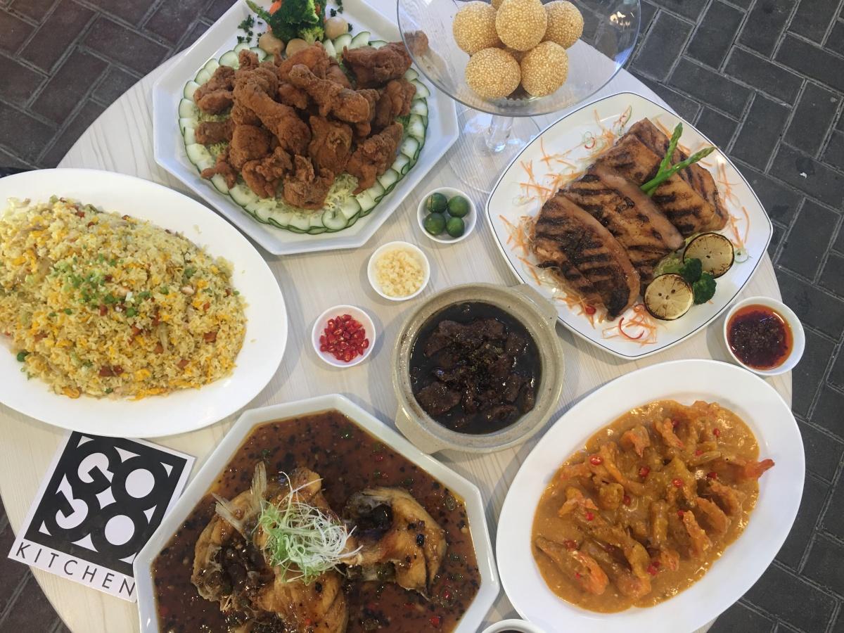 Great eats at GoGo Kitchen, SeascapeVillage