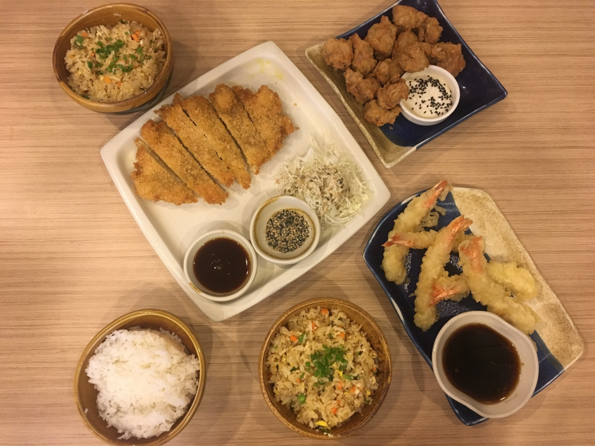 Japanese food faves at Hanako, SM Pasig