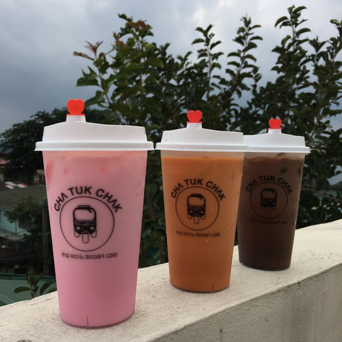 Thai Milk Tea at Cha Tuk Chak,Greenhills