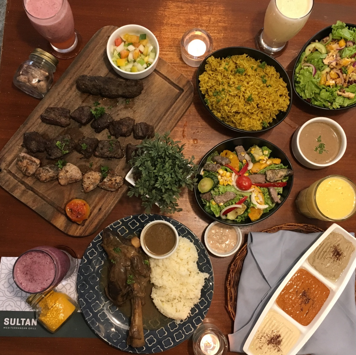 Three reasons to have your Sunday brunch at Sultan Mediterranean Grill,Makati