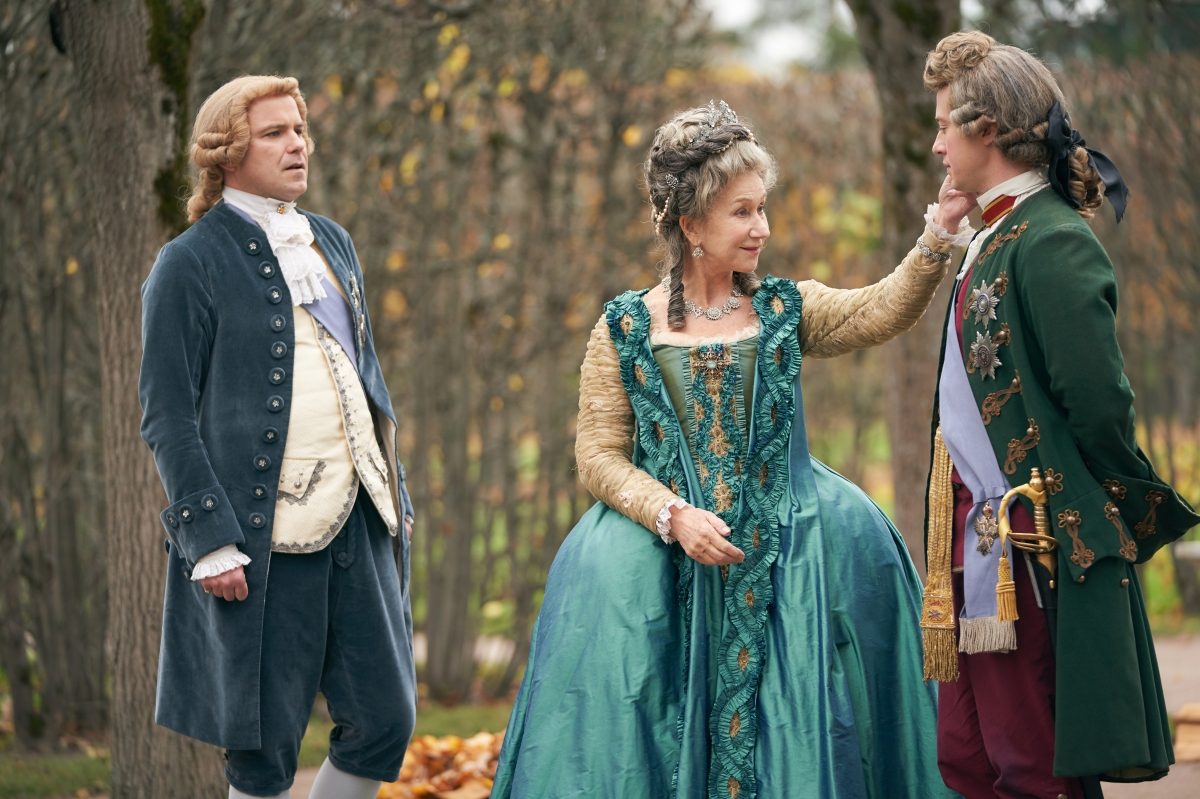 Helen Mirren and Jason Clarke star in four-part HBO limited series, CATHERINE THE GREAT, premiering 22October