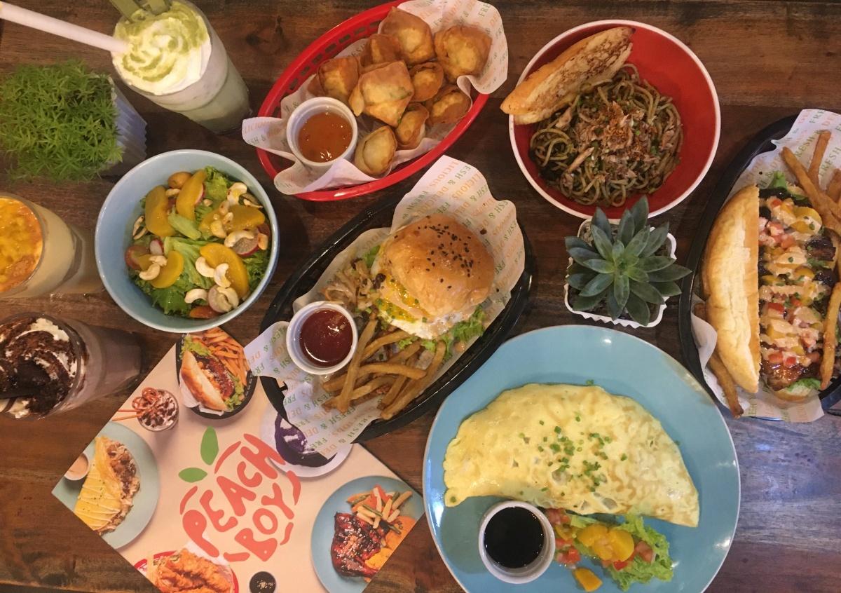 Great eats at Peach Boy,Mandaluyong