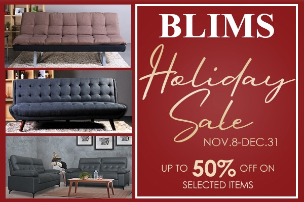 Take advantage of Blims' Holiday Sale to upgrade your home furniture in time for theholidays