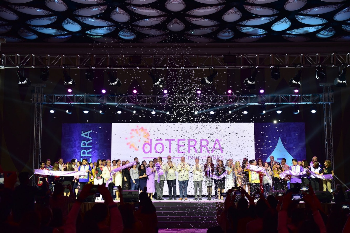dōTERRA® Opens Corporate Office and Celebrates Grand Opening in ThePhilippines