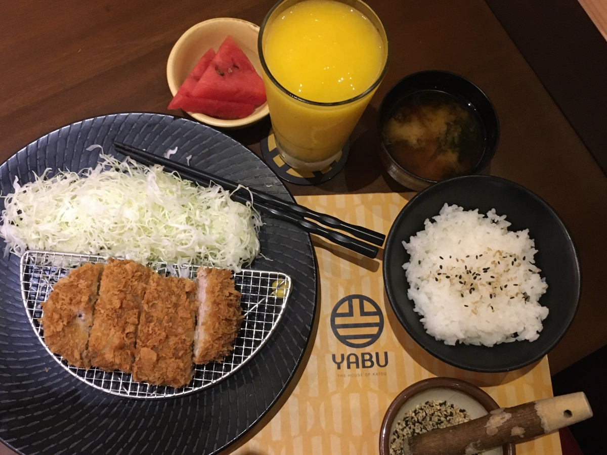 Return to my katsu love at Yabu, Ayala Malls Feliz