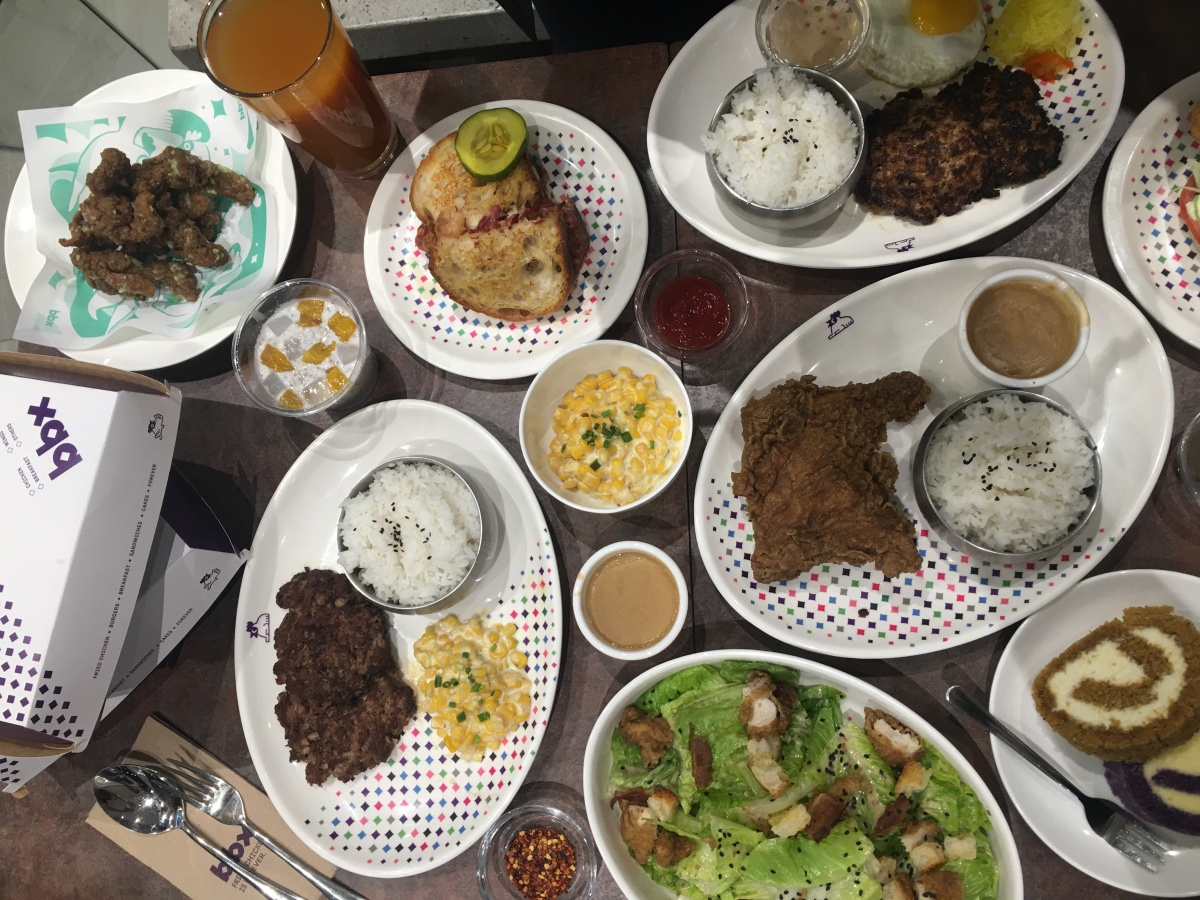 Food fast and affordable at BBX, Glorietta