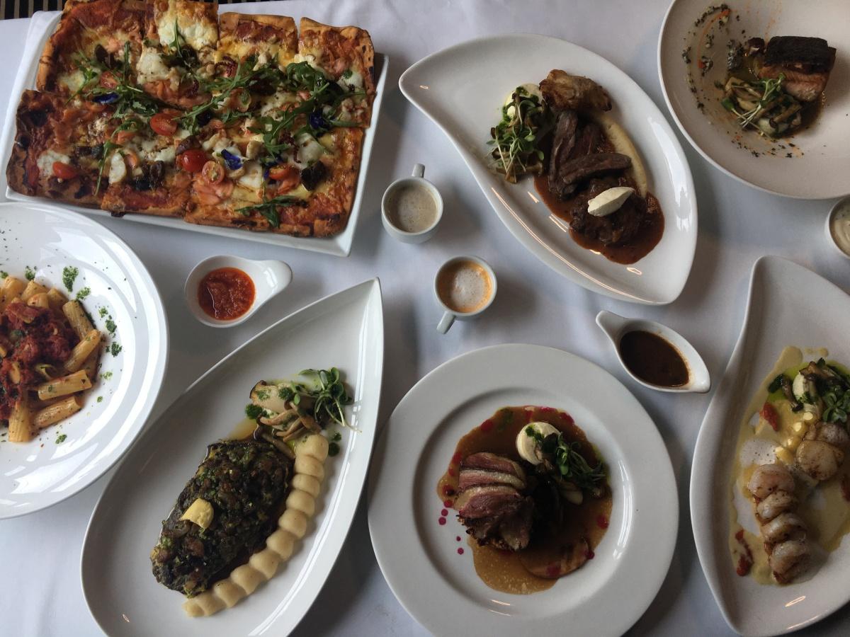 Fine dining at Bistro Manuel,Poblacion