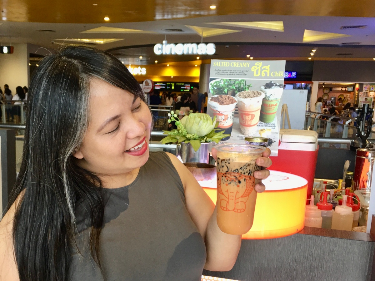 Jelly G Thai Milk Tea, Ayala Malls Feliz