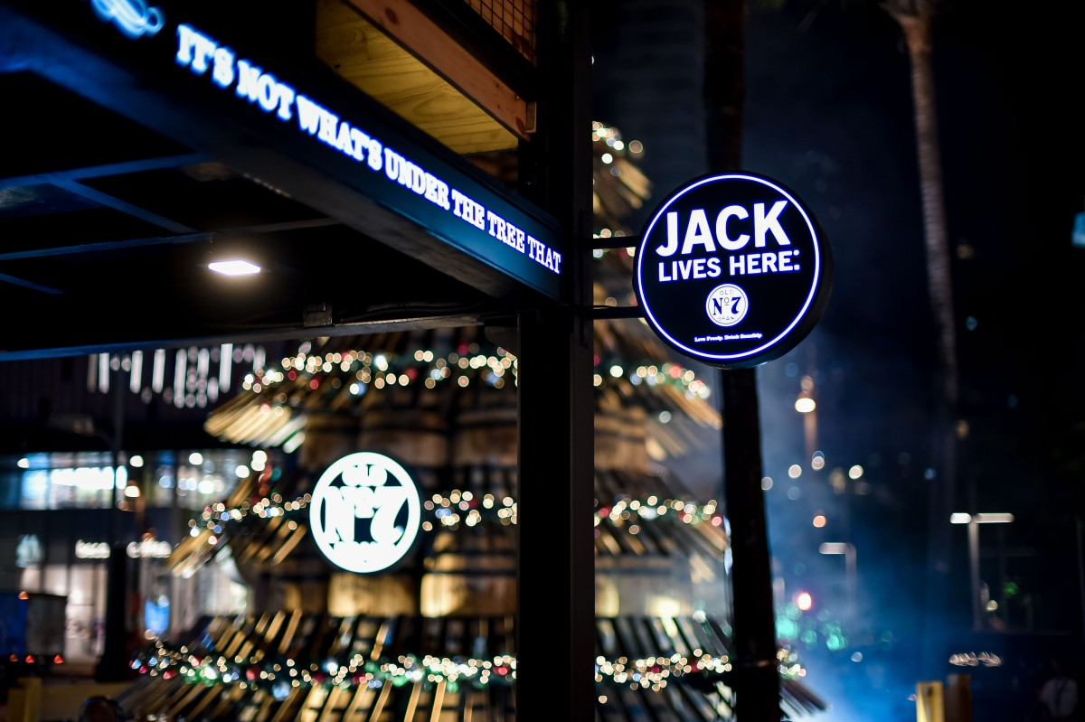 Jack Daniel's lights Holiday Barrel Tree in the Philippines for the thirdtime