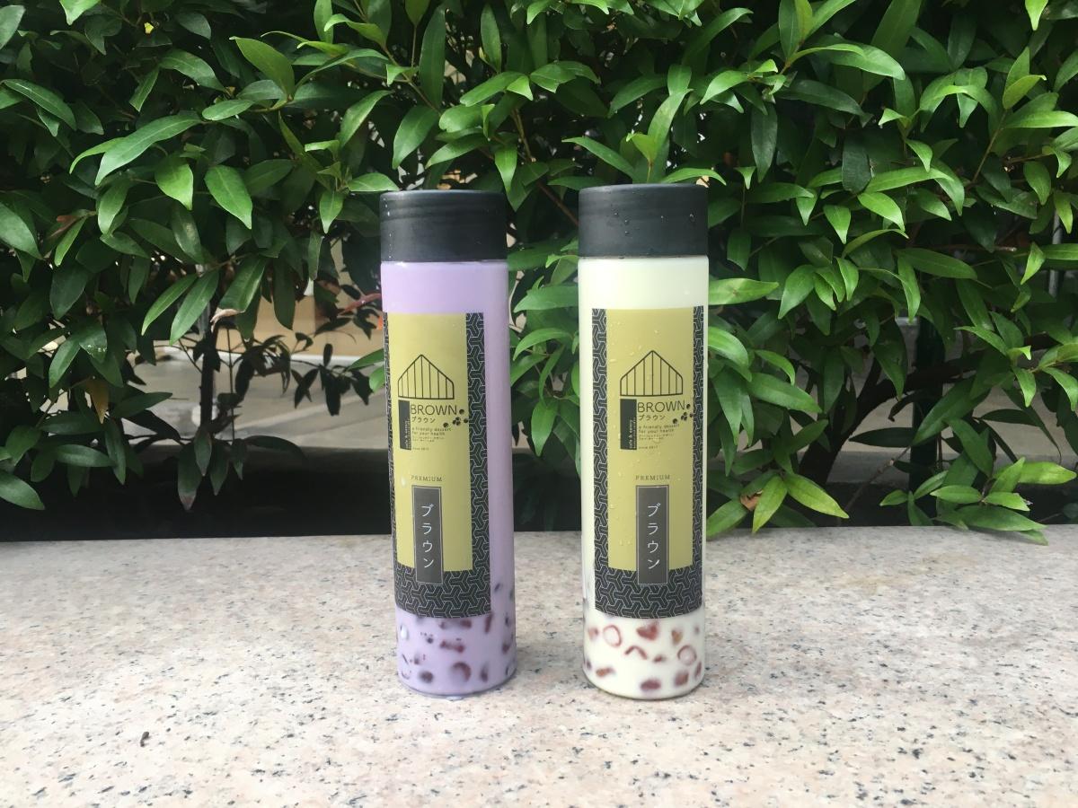 A fresh take on milk teas at Brown Cafe,BGC