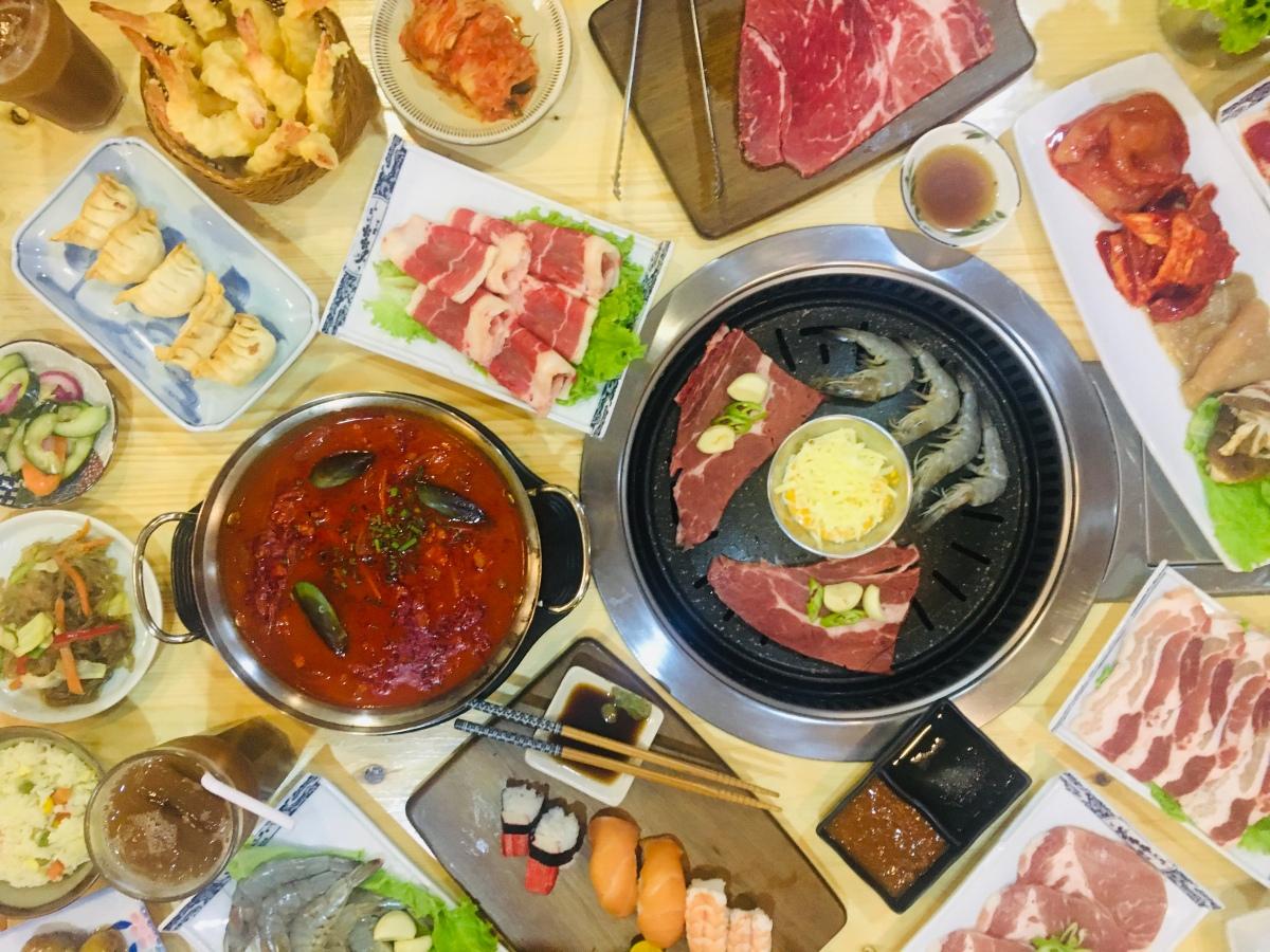 Unli Japanese fusion dishes at Yakikai BuffetRestaurant