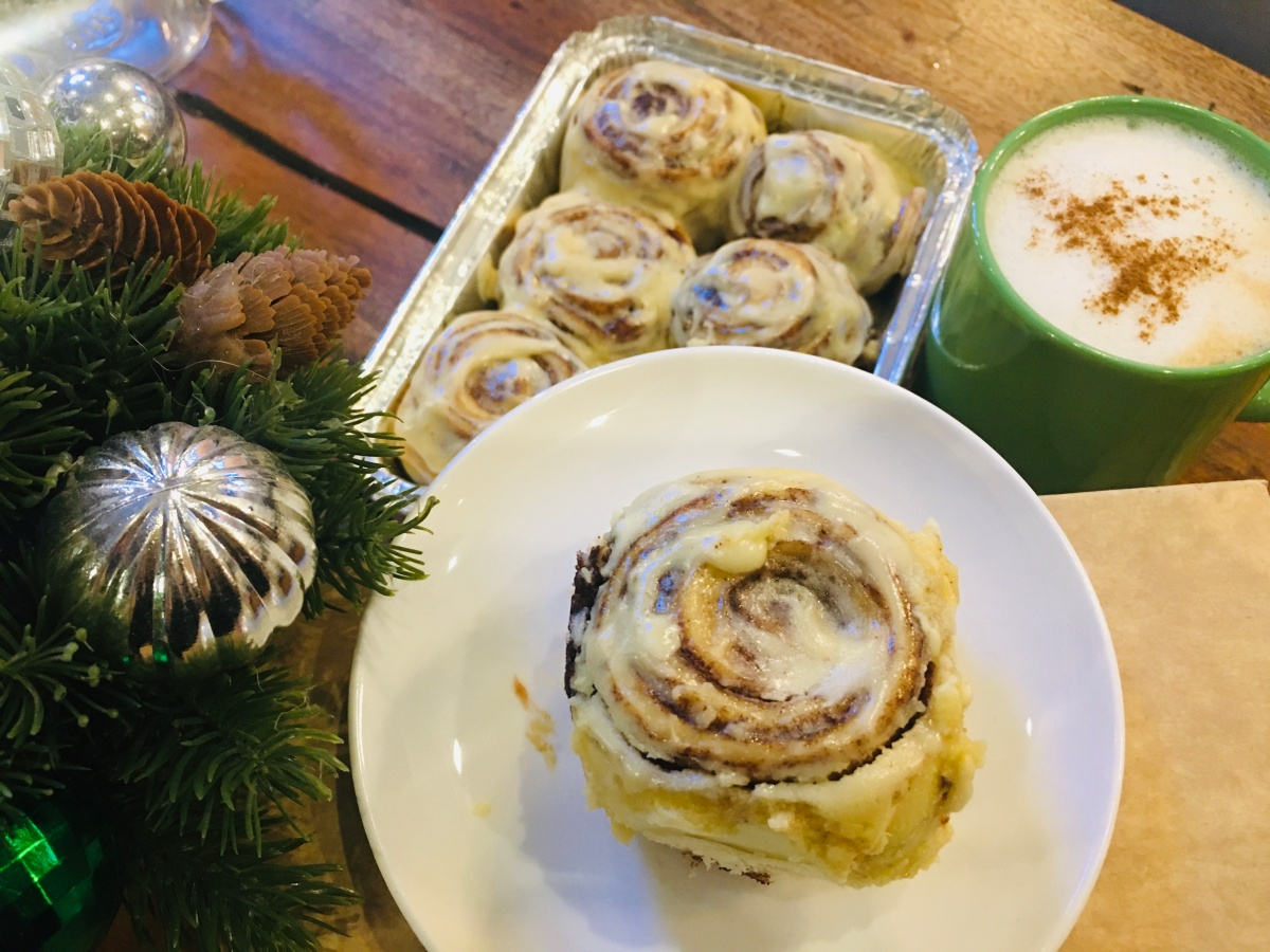 Open a box of happiness with cinnamon rolls from Rolls.PH