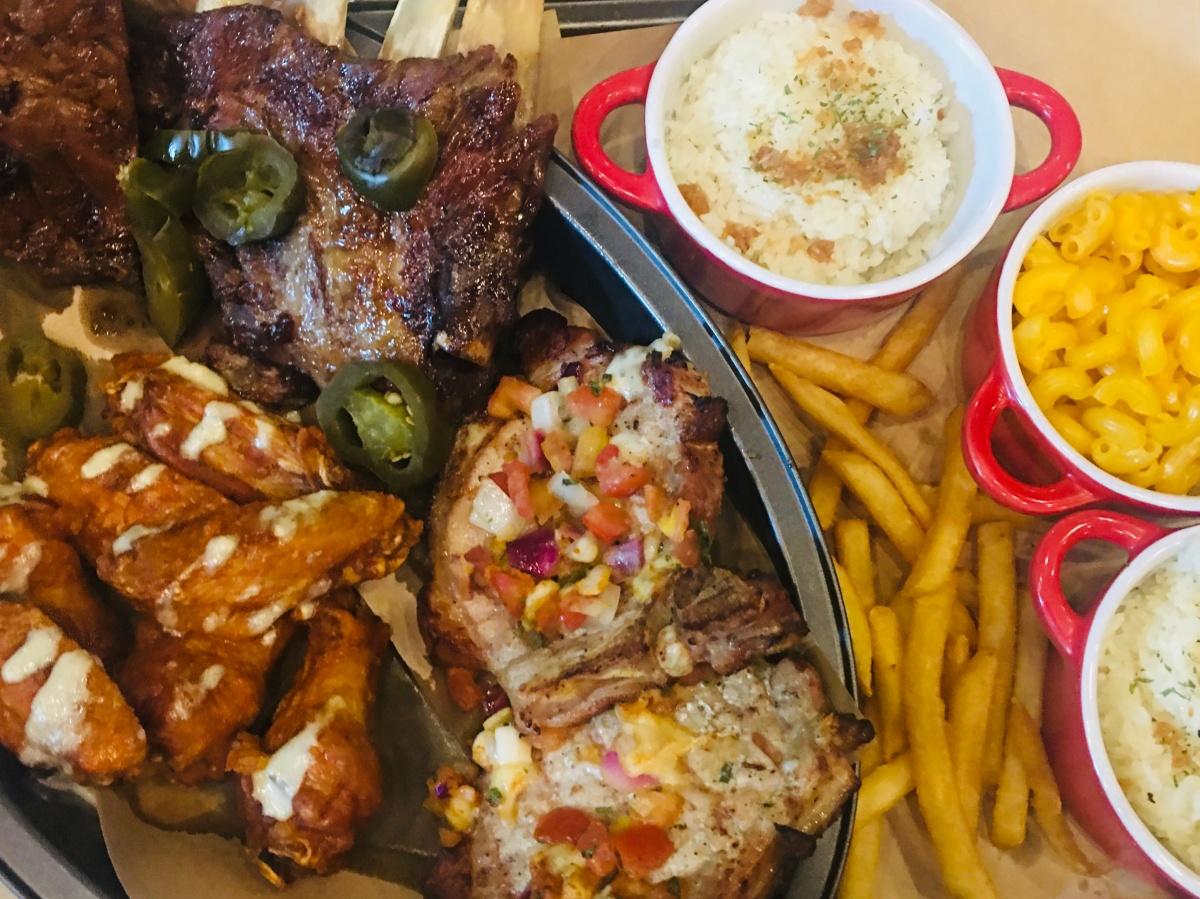 Birthday lunch treat at TGI Fridays, SouthTriangle