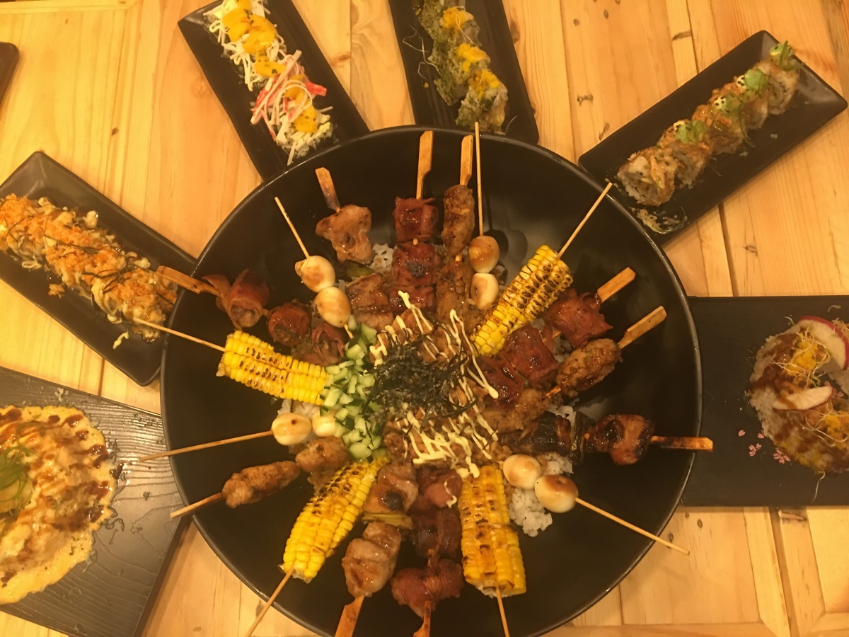 A Japanese shokudo food experience at Grillin' Ape, Eastwood Cybermall
