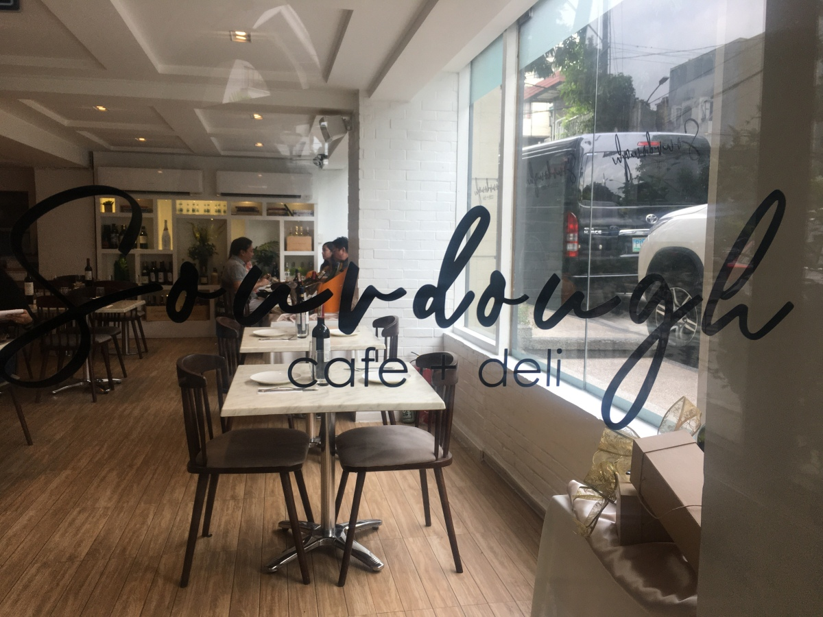 Sourdough Cafe + Deli, Tomas Morato