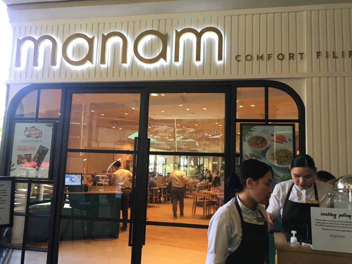 Manam Comfort Filipino,Trinoma