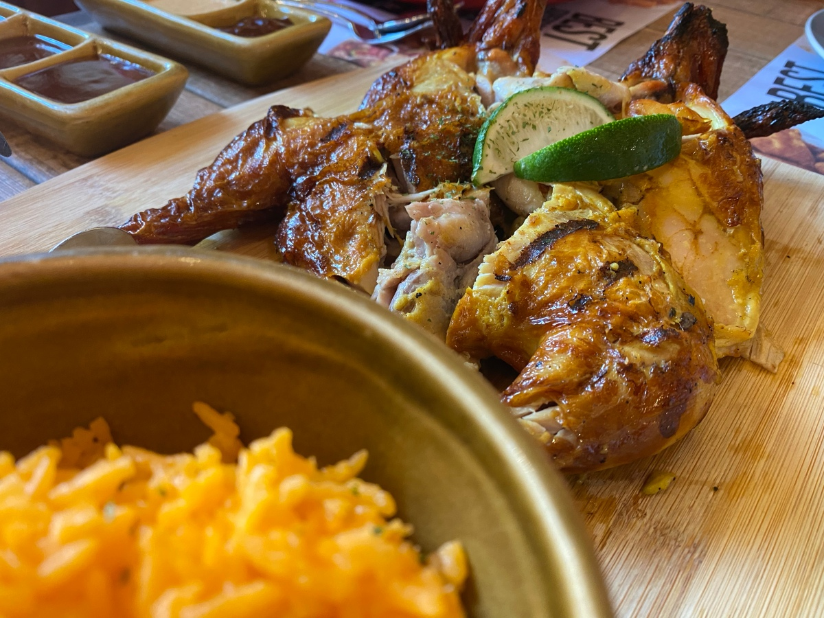 Lunch break adventure at Peri-Peri Charcoal Chicken, Tomas Morato