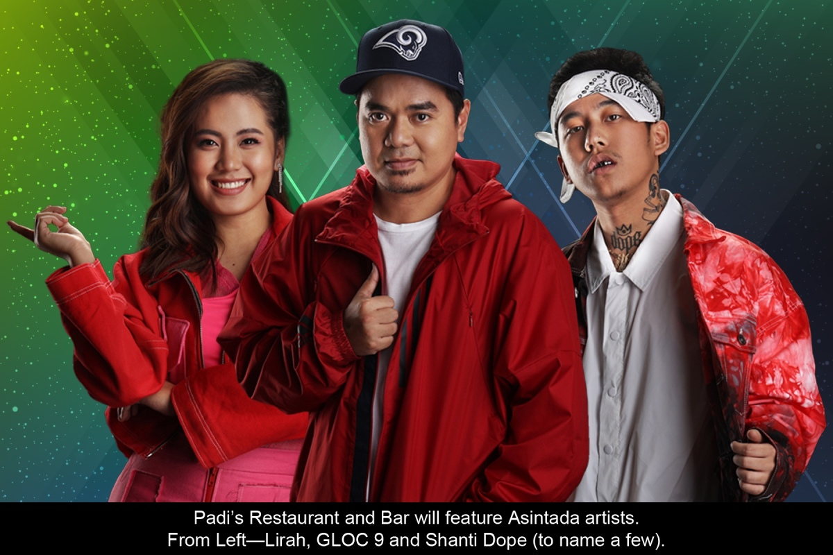 Padi's launches Barkada Bar Tour with Gloc-9, Shanti Dope and other Asintada artists