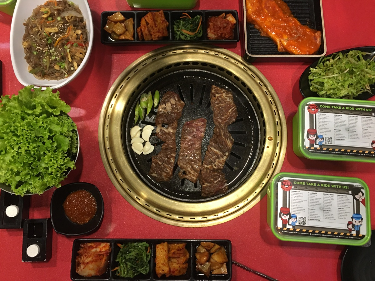 Took a ride on Seoul Train Korean BBQ, Tomas Morato