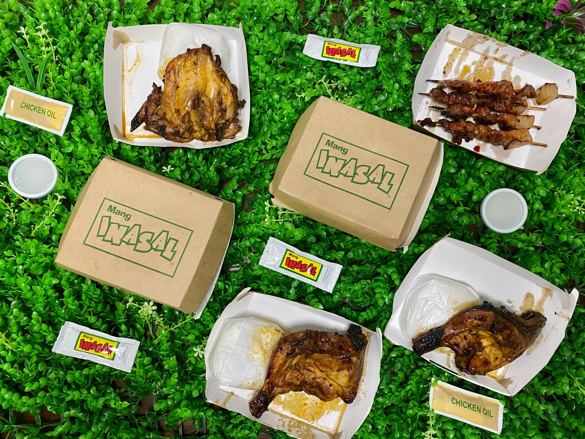 Chicken inasal meal at home from Mang Inasal, Libis