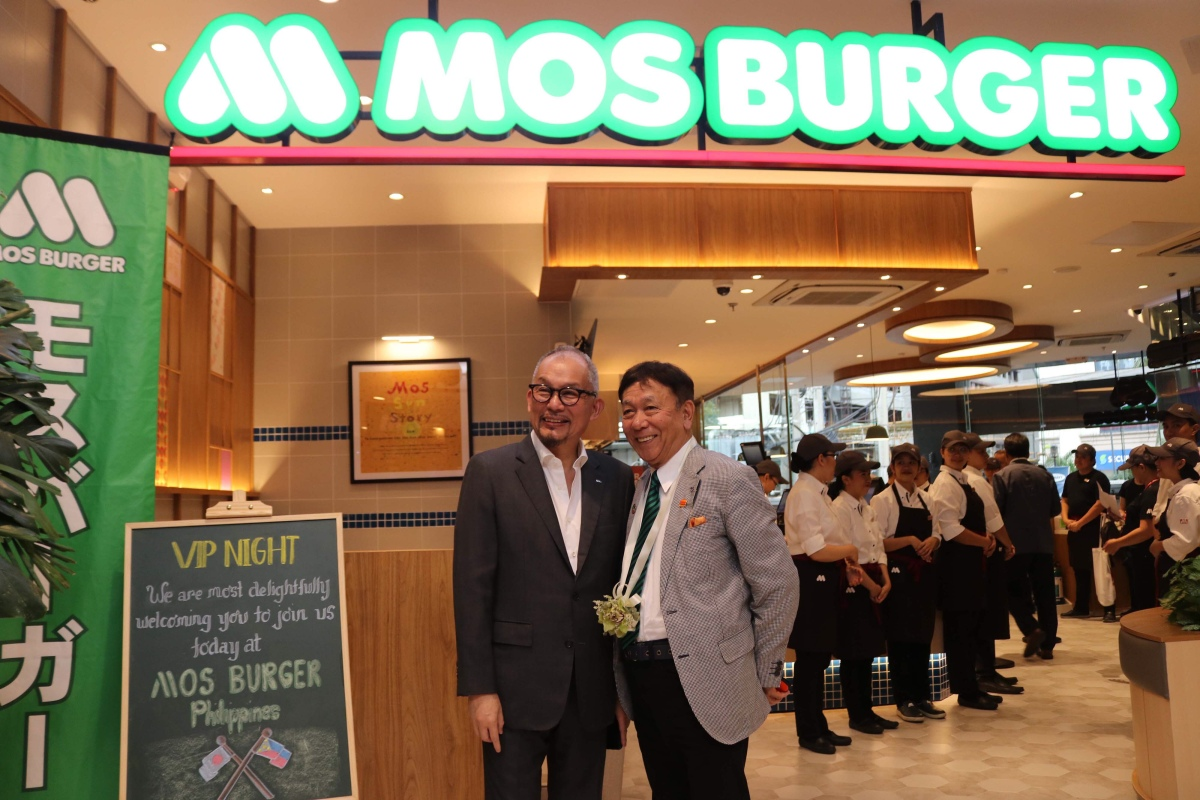 MOS Brings Its Most Popular Burgers to PH Market