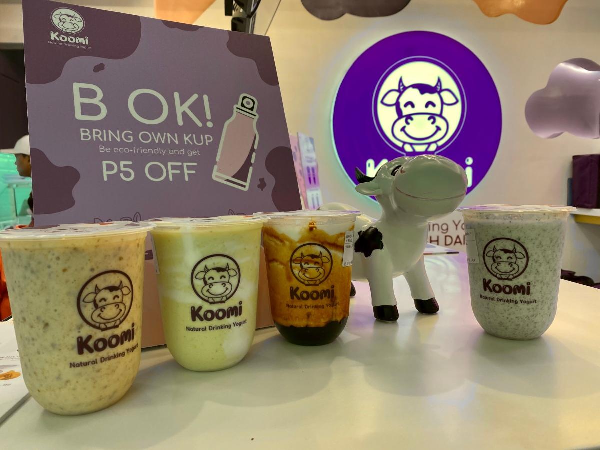 Yummy yogurt drinks at Koomi, ThePodium