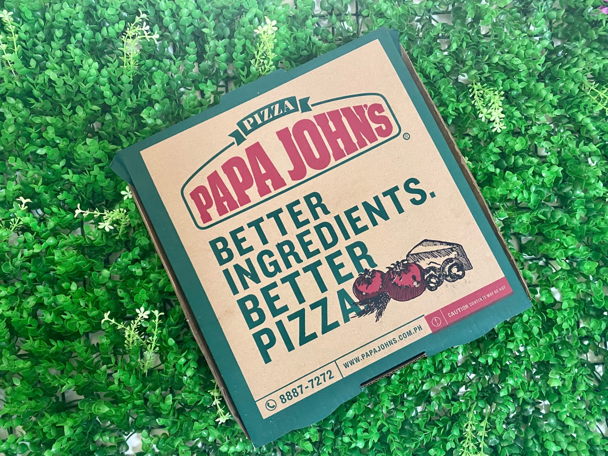Pizza delivery from Papa John's, Riverside