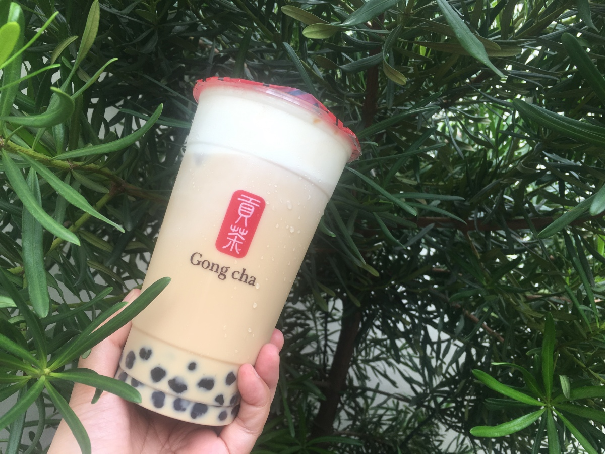 Milk tea indulgence at Gong Cha, L&Y Plaza
