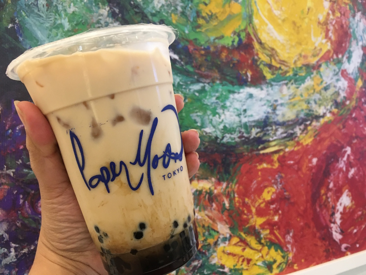 Cool down with Paper Moon Cafe's MilkTea