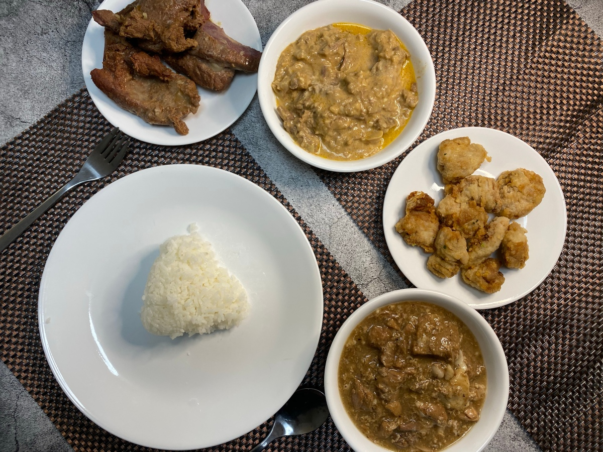 Ready-to-eat dishes from San Miguel Foods and Petron Treats