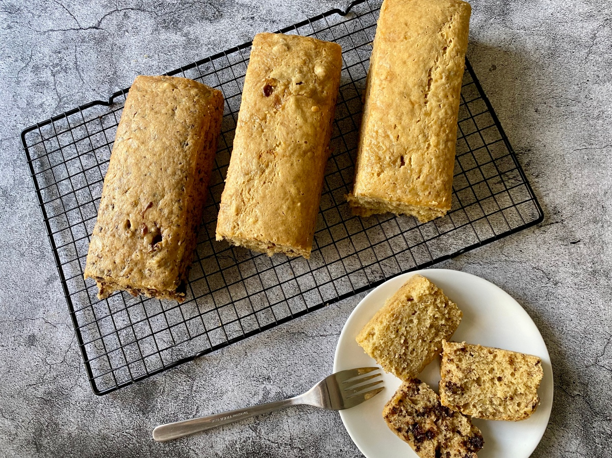 #QuarantineCookbook: Banana Loaf Three Ways