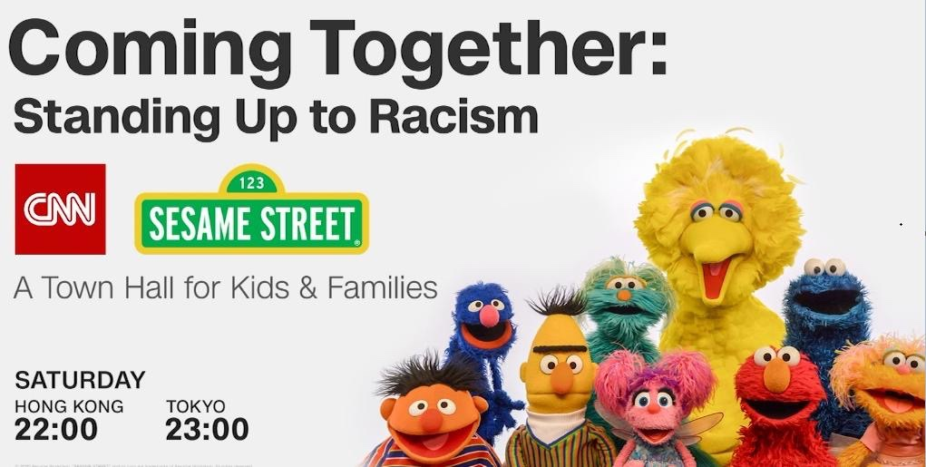 CNN and Sesame Street's townhall showed parents how to talk to kids about racism