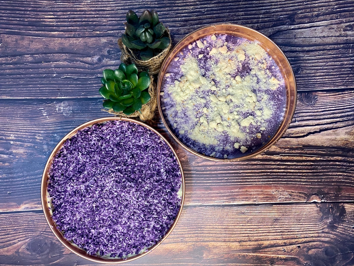 New ube flavors from What's YourFlan?