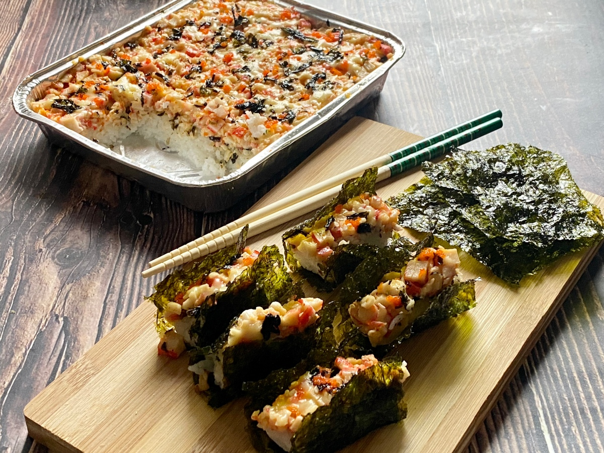 #LookToTheEast for delectable and affordable Sushi Bake