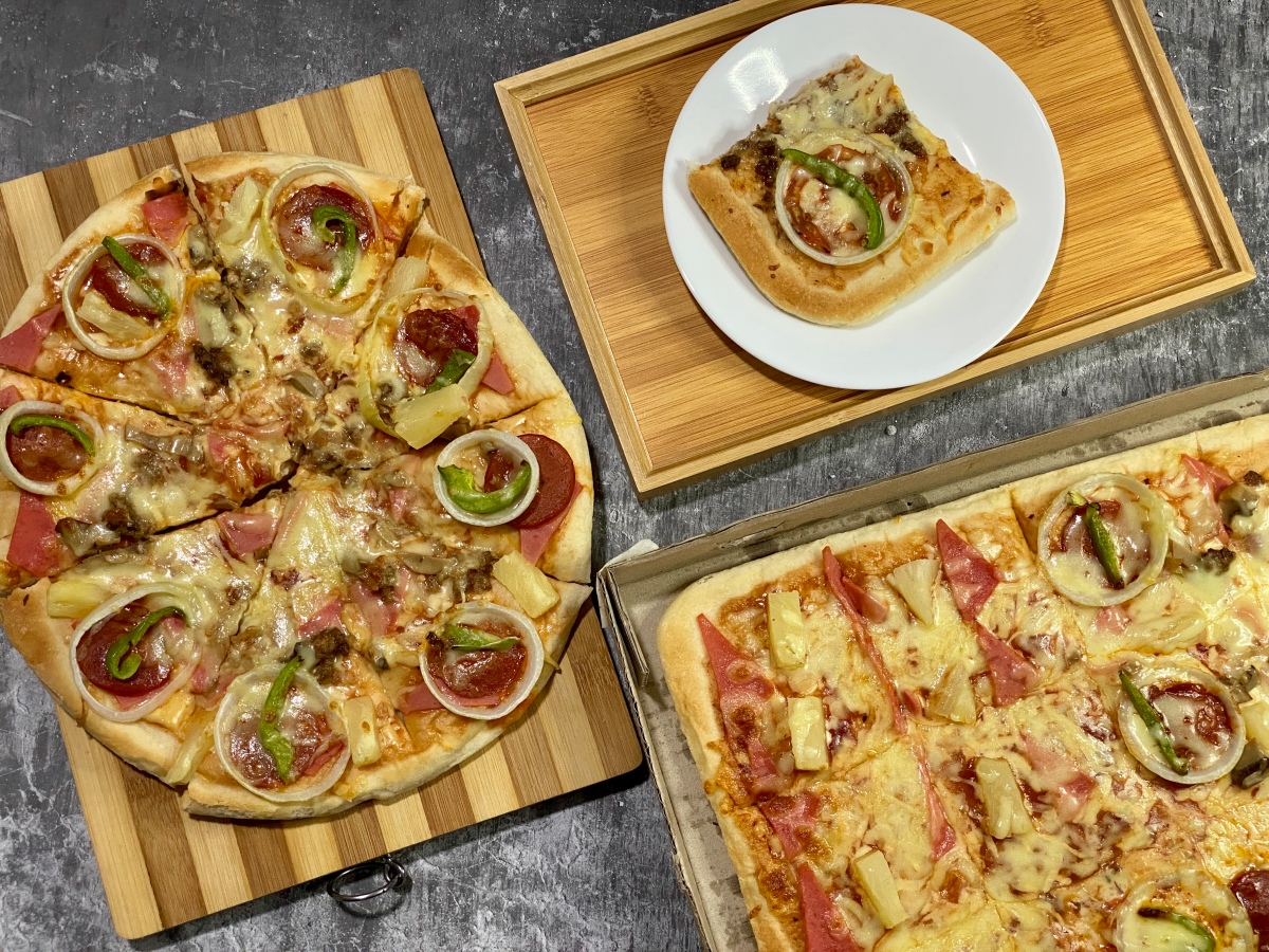 Easy dinner delivery from Delanders Pizza + Cafe