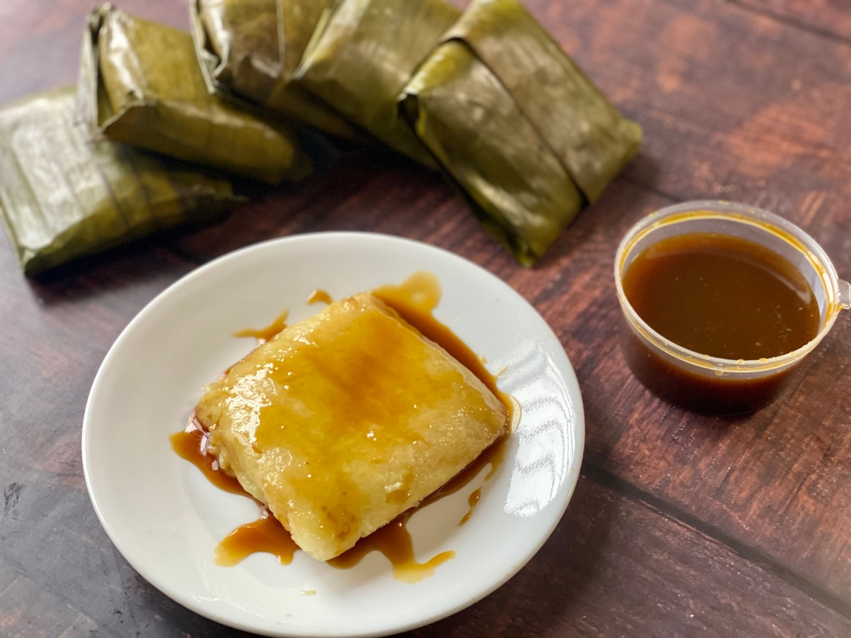 Flashback to my childhood with Mama Lola's Suman sa Latik