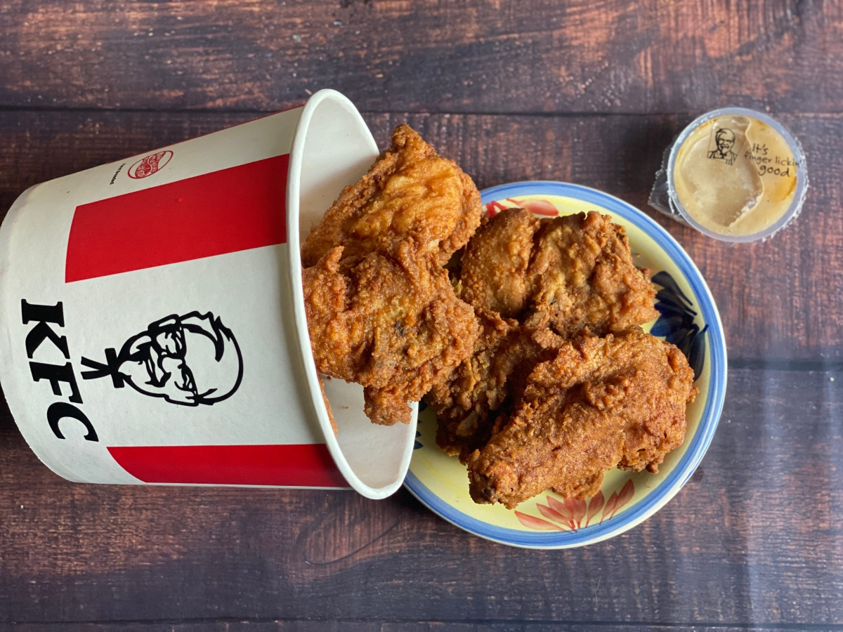 KFC delivery for Sunday lunch