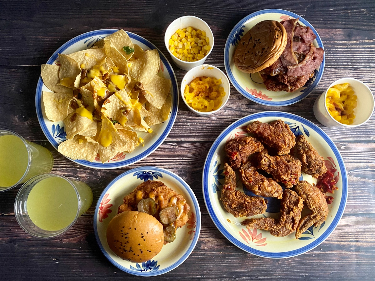 Nashville-style chicken from Ray's Hot Chicken, Malate
