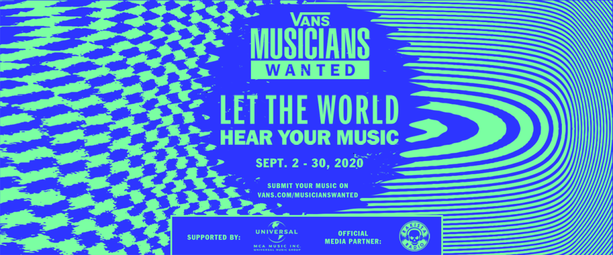 Vans and partners J.I.D and Bohan Phoenix launch Vans Musicians Wanted Competitionworldwide