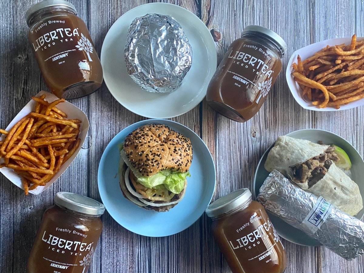 Burger + Burrito Group Meal delivery from ArmyNavy