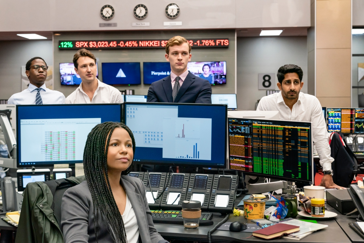 New HBO drama series INDUSTRY premieres November 10 exclusively on HBO GO andHBO