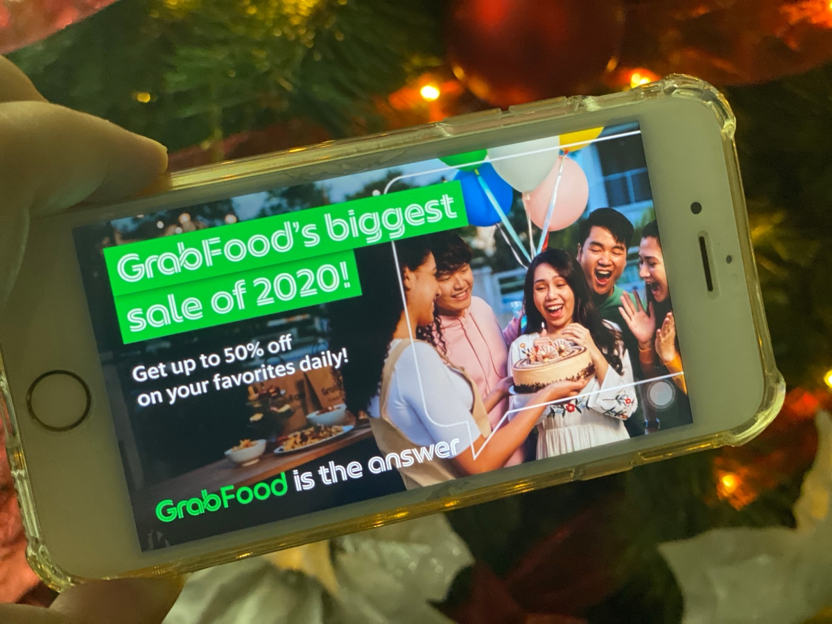GrabFood's wide variety of offers continues to delight by giving you any food, any time