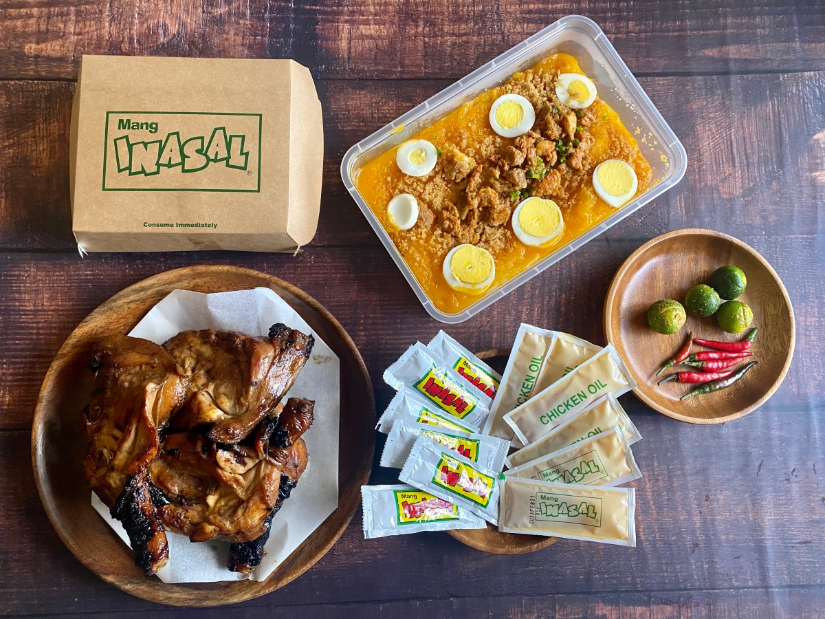 Get a free palabok platter with your Mang Inasal family size chicken order