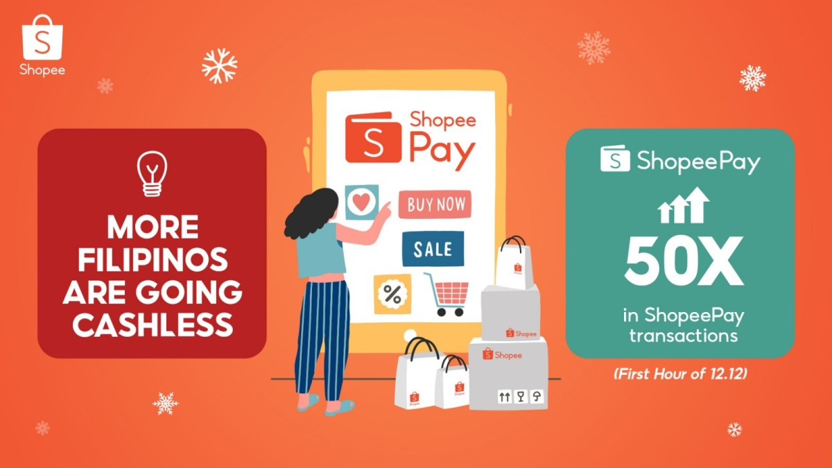 Shopee shoppers embrace digital payments on 12.12
