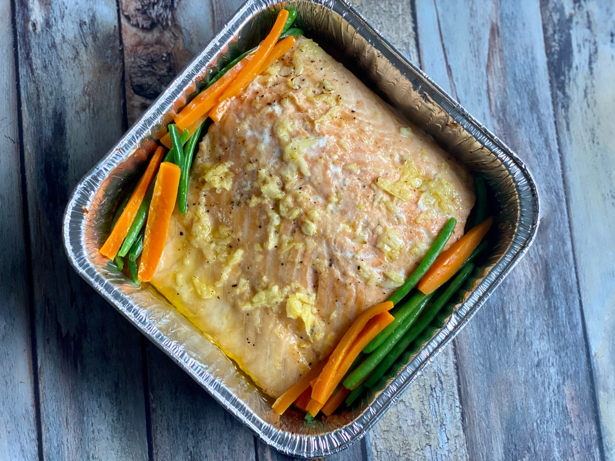 Recipe: Baked Salmon in Lemon Butter Sauce