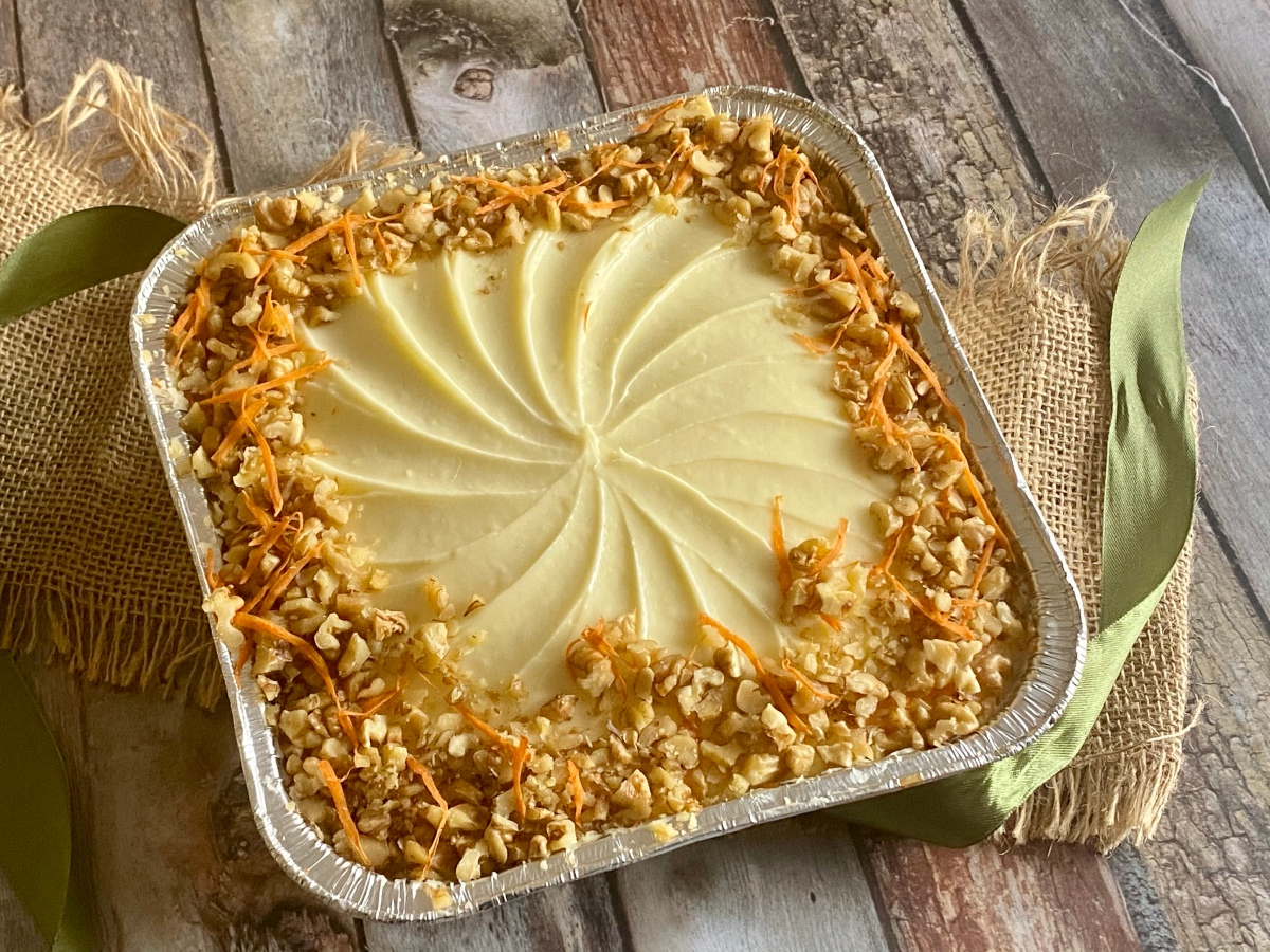 Celebrate Carrot Cake Day with this treat from Inang Charing