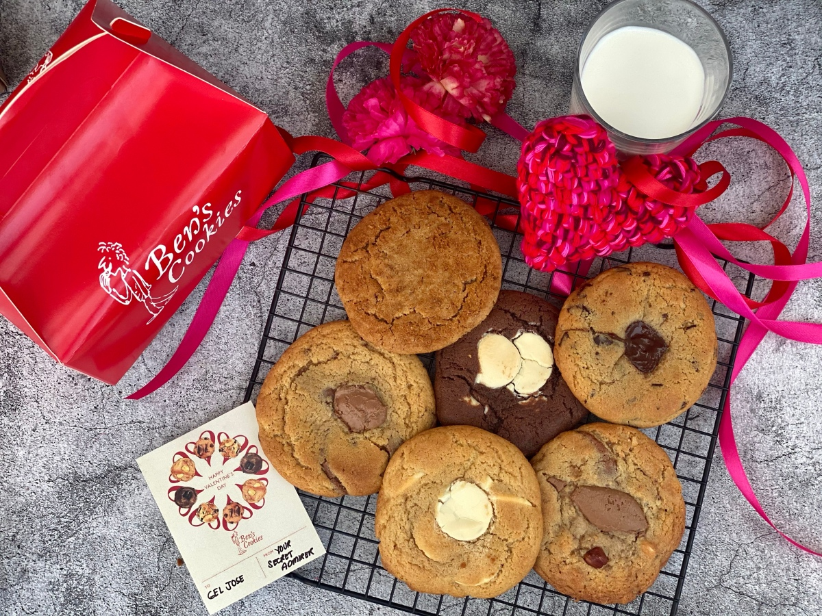 "Three reasons to say ""I love you"" with Ben's Cookies this Valentine's Day"