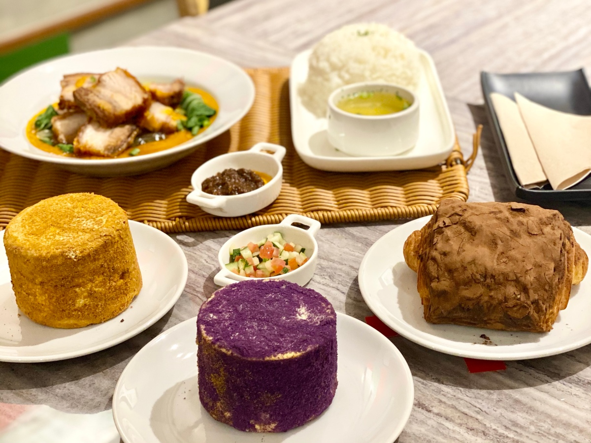 Comfort food at Nord's Bread Hub, SMMegamall